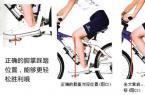 自行车骑行姿势入门:山地车正确骑行姿势图解