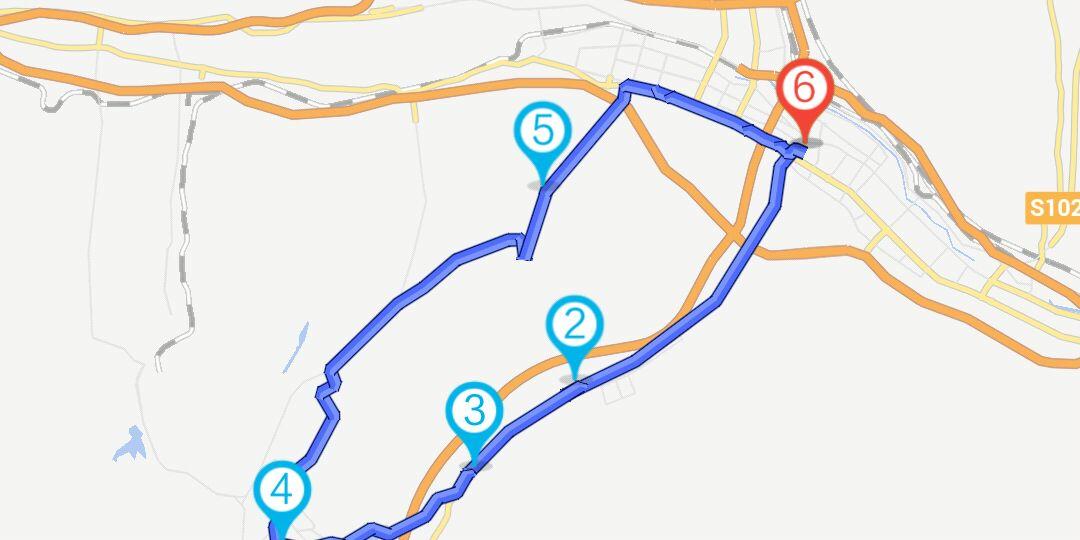 西宁湟中县塔尔寺骑行路线