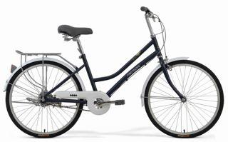 2018款美利达凯莉22城市代步车消光宝蓝