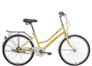 2018款美利达凯莉22城市代步车金肤白