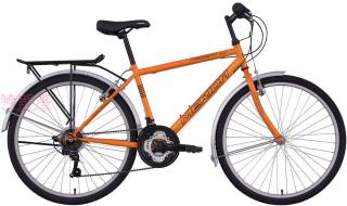 美利达付利威300城市变速车橘黄色