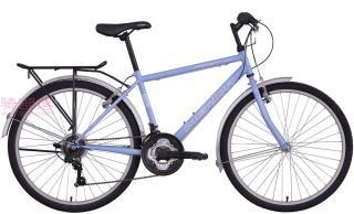 美利达付利威300城市变速车浅蓝色