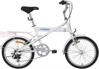 美利达元素 Z20寸女士自行车茉莉白