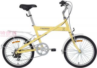美利达元素 Z20寸女士自行车黄色