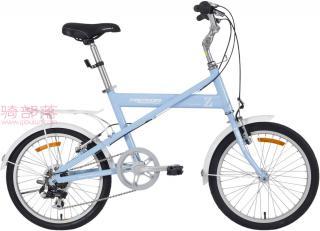 美利达元素 Z20寸女士自行车浅蓝色