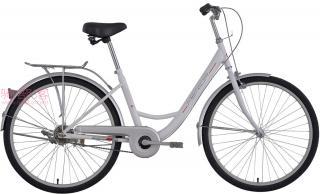 美利达和风单速自行车茉莉白