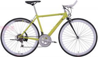 美利达Ride 900牛角把公路自行车明绿色