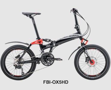 欧亚马OX5HD折叠车