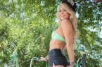 这辆自行车太个性了,美女能骑上它上街吗? 图23