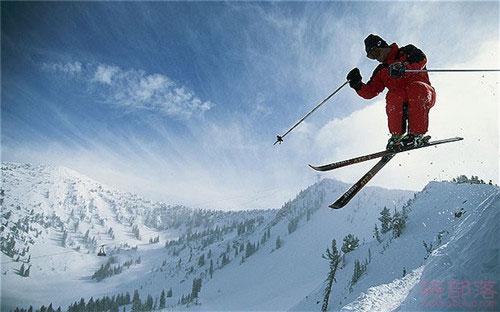 户外运动之滑雪