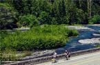 适合远距离骑行 崔克520公路旅行自行车