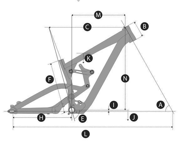 图解车架:自行车车架尺寸名词介绍
