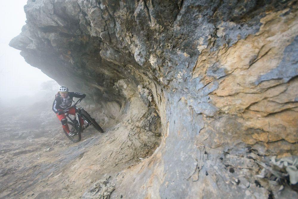 自行车极限运动:高山自行车越野美景实拍图 图9