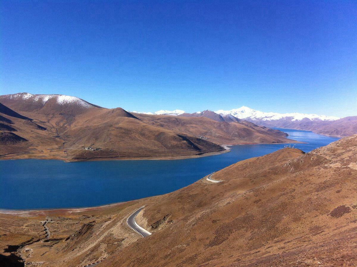 骑车去西藏:骑友骑行西藏美景图片分享 图2
