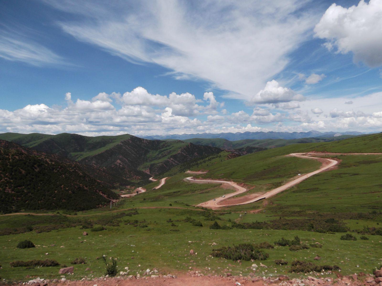 骑车去西藏:骑友骑行西藏美景图片分享 图4