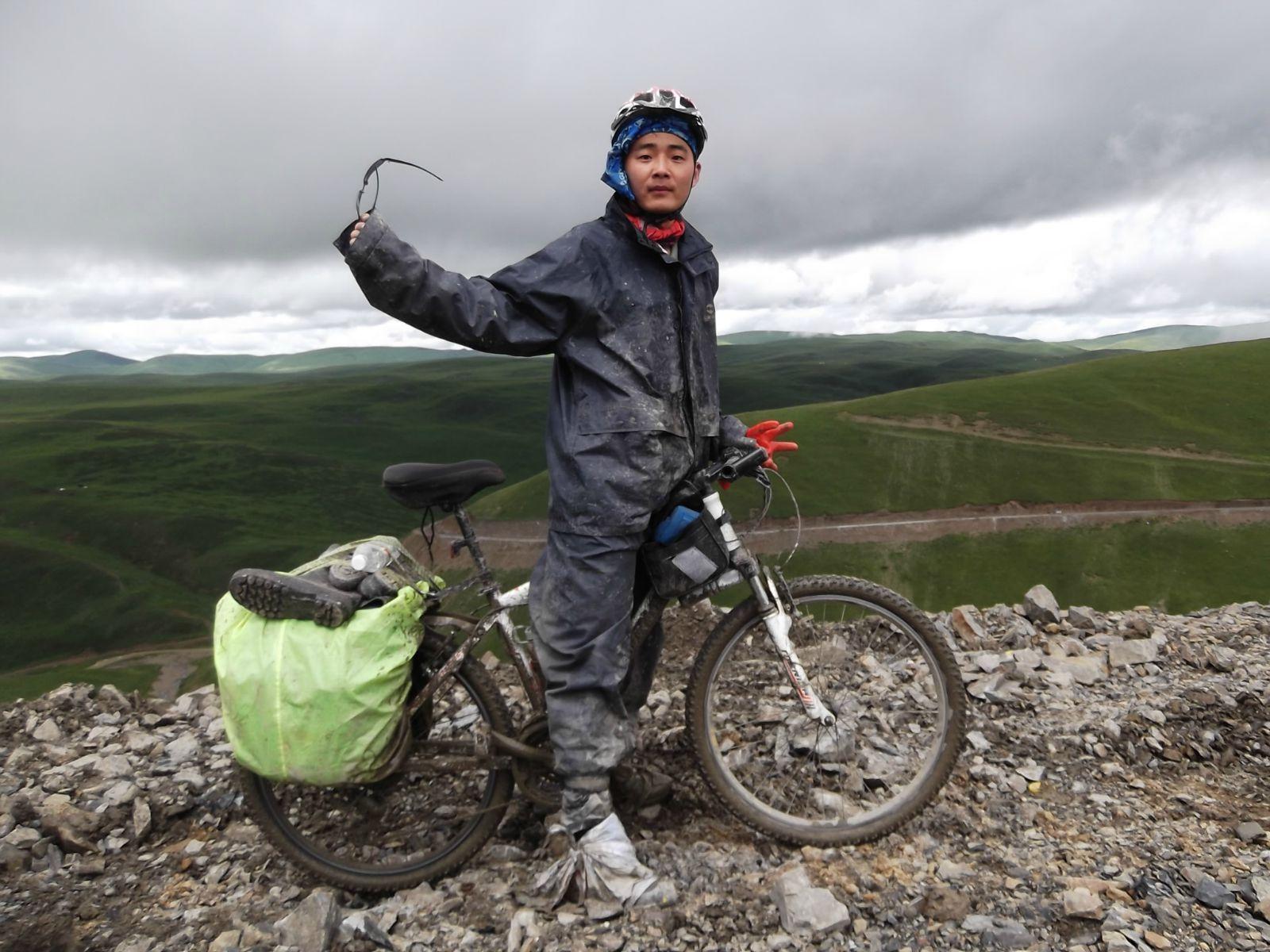 骑车去西藏:骑友骑行西藏美景图片分享 图5