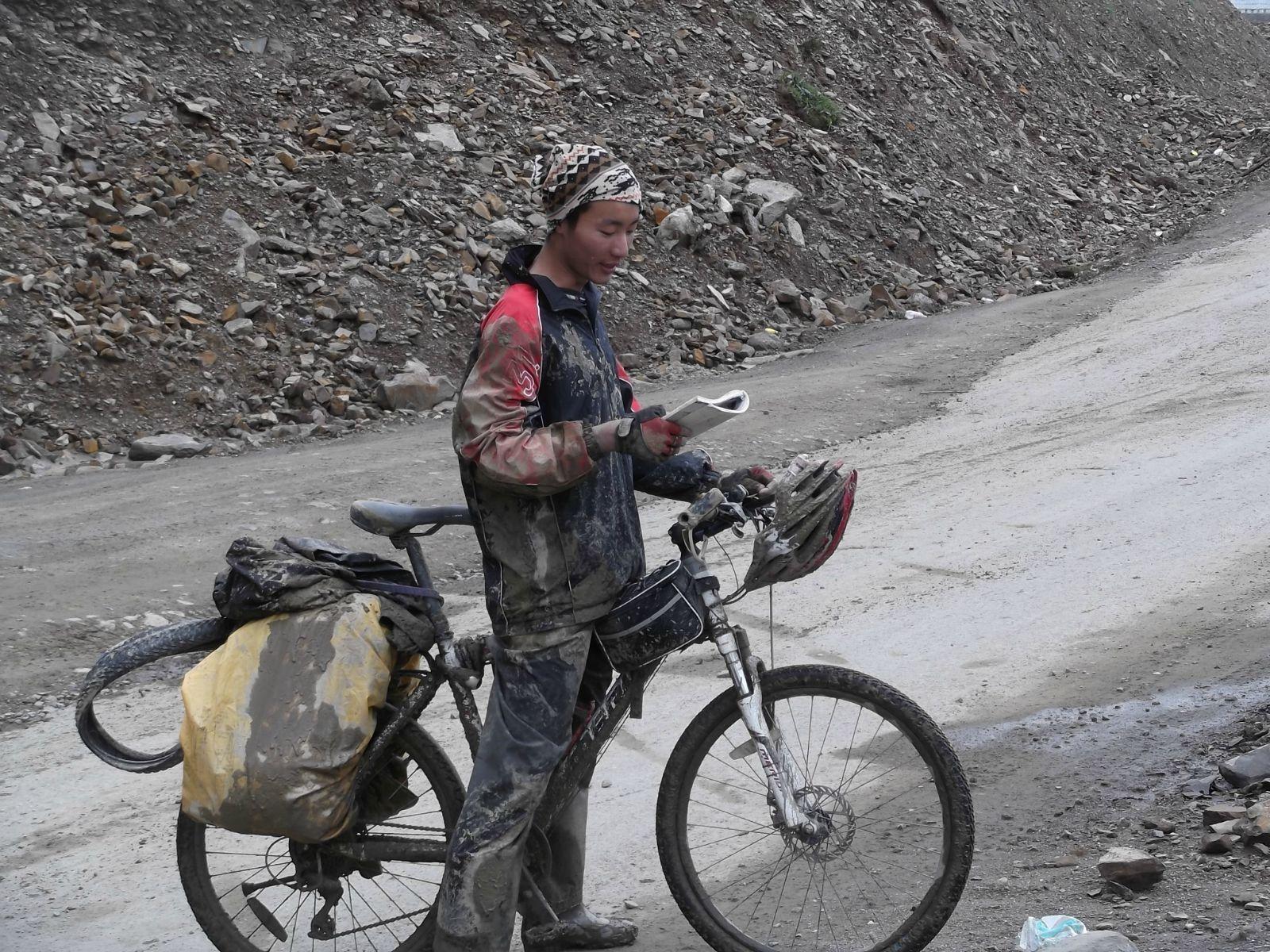 骑车去西藏:骑友骑行西藏美景图片分享 图7