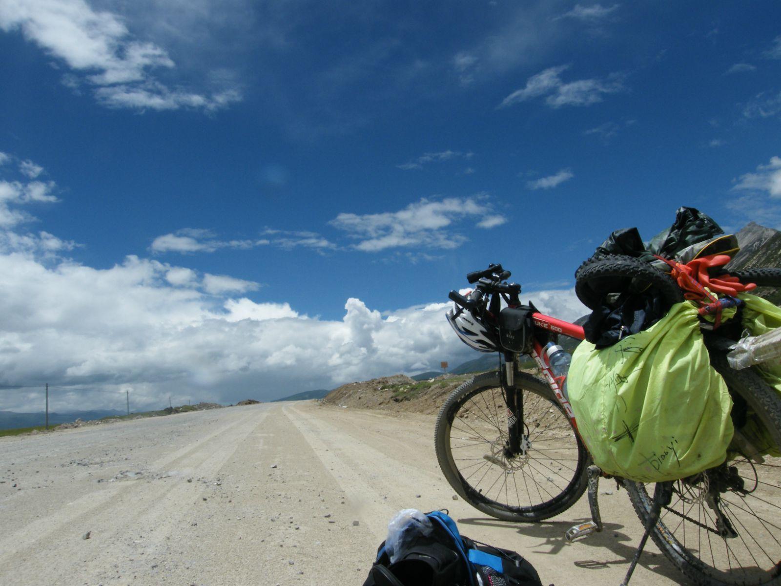 骑车去西藏:骑友骑行西藏美景图片分享 图9