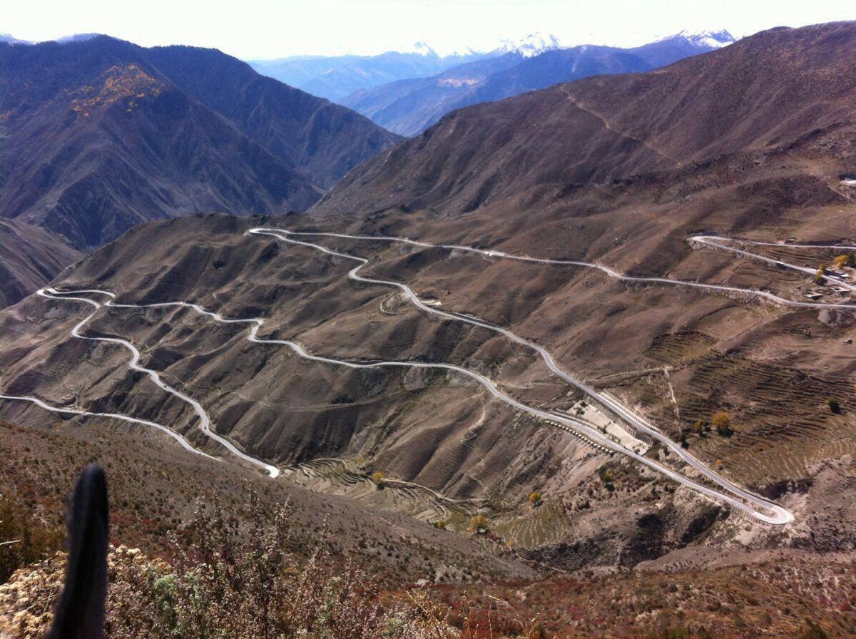 骑车去西藏:骑友骑行西藏美景图片分享 图12