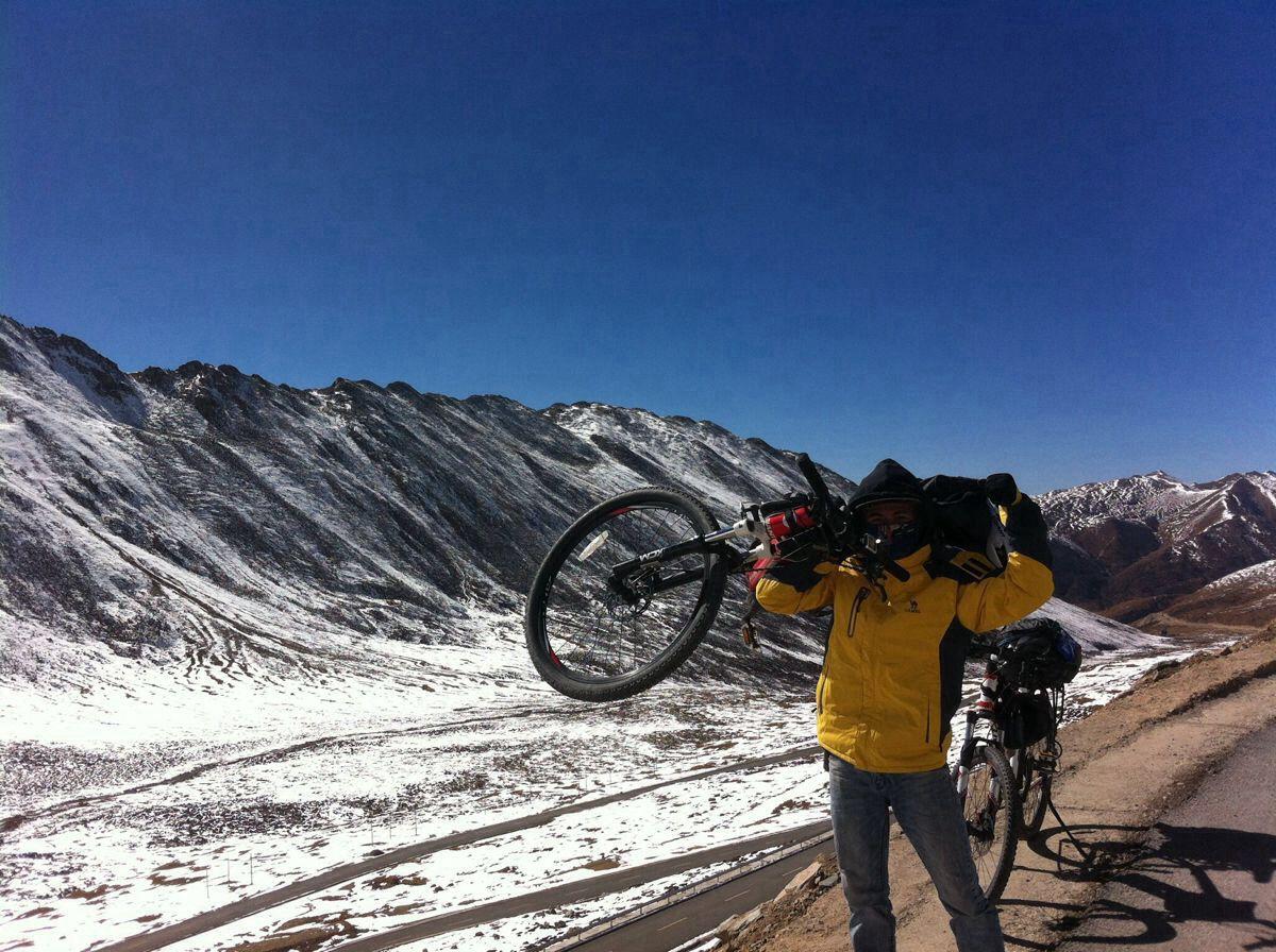 骑车去西藏:骑友骑行西藏美景图片分享 图14