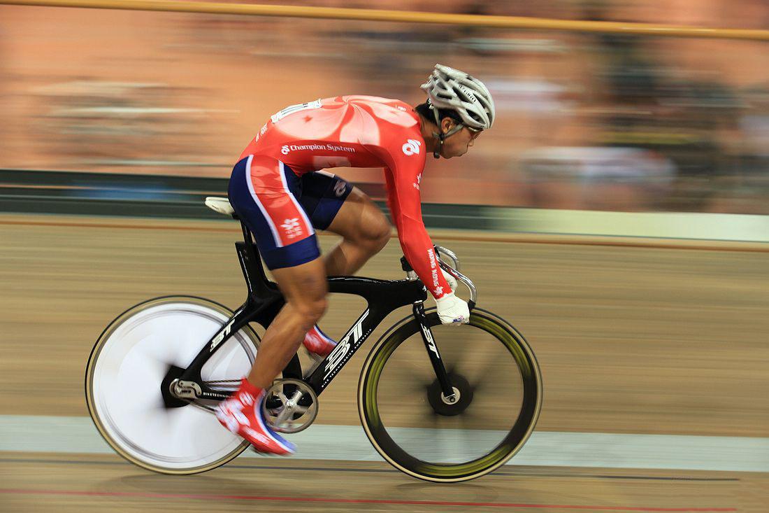 场地自行车比赛现场图片分享 图5