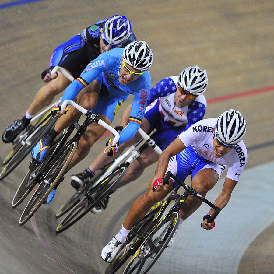 场地自行车比赛现场图片分享 图8