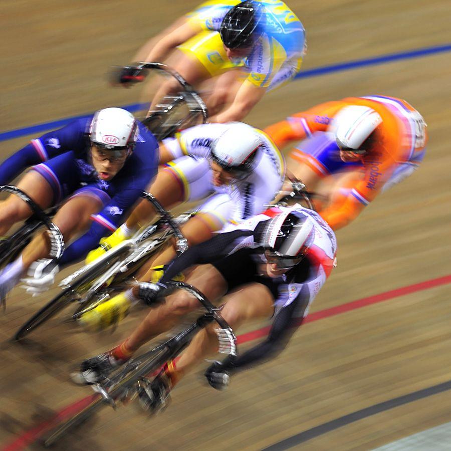 场地自行车比赛现场图片分享 图10