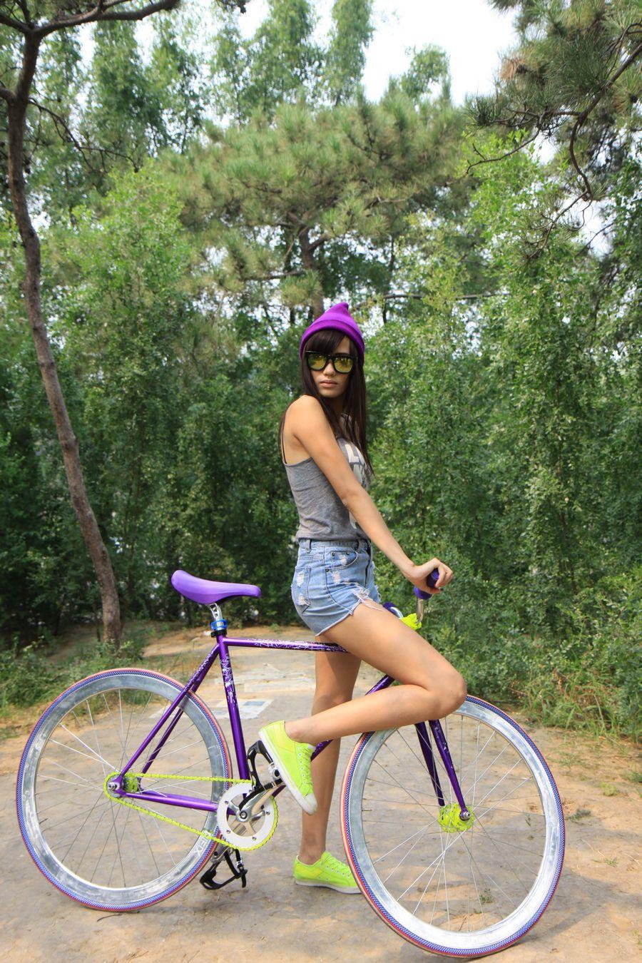 就是要不一样,个性十足的死飞自行车图片分享 图1