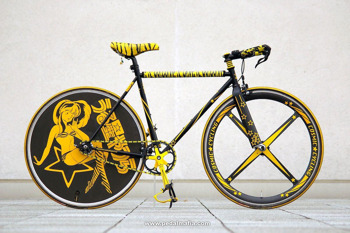 就是要不一样,个性十足的死飞自行车图片分享 图5