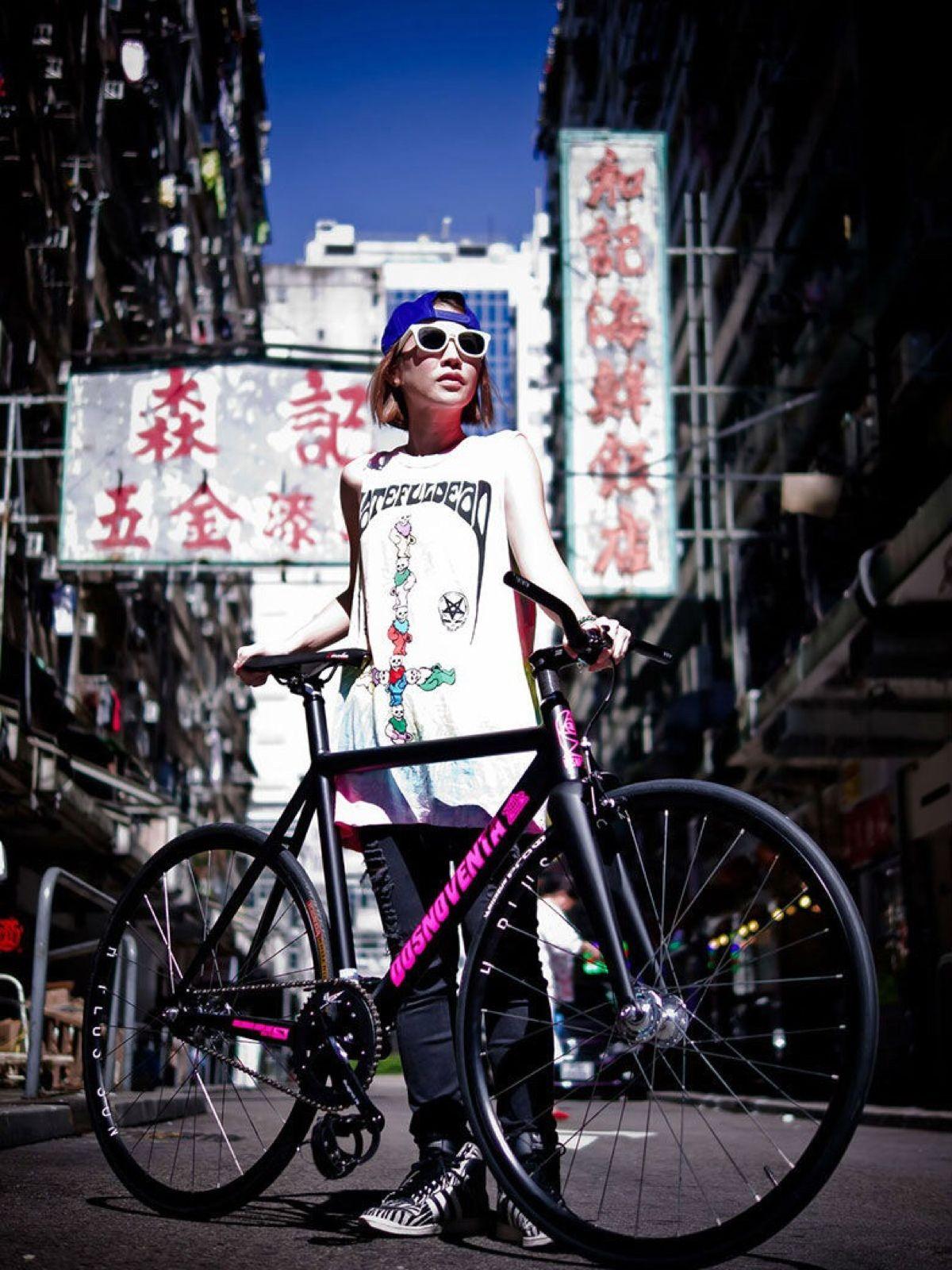 就是要不一样,个性十足的死飞自行车图片分享 图6