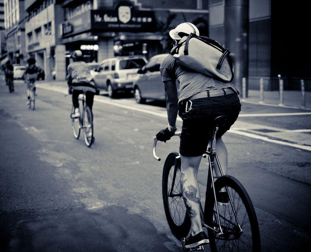 就是要不一样,个性十足的死飞自行车图片分享 图9
