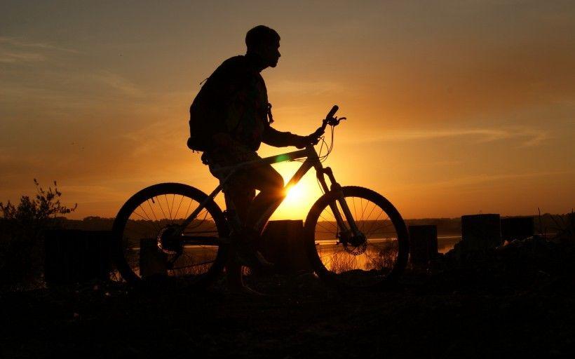 老式自行车唯美图片与情侣唯美意境图片分享 图2