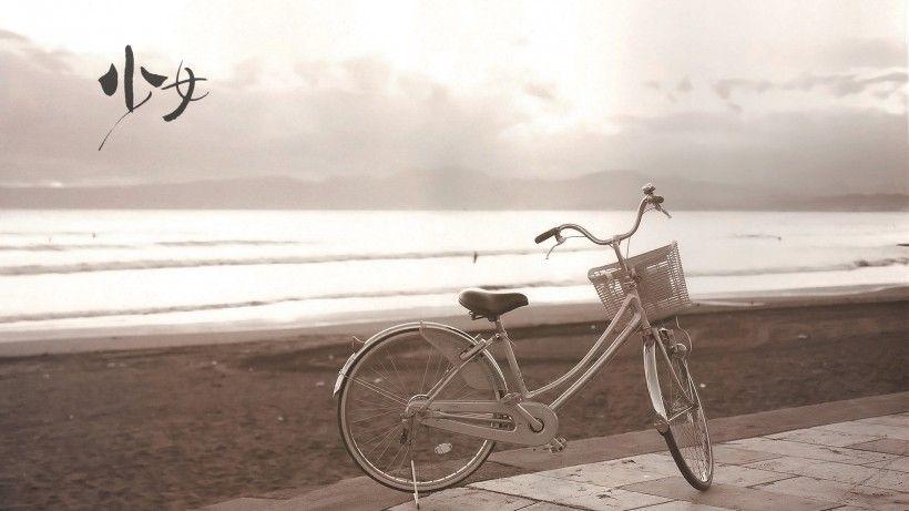 老式自行车唯美图片与情侣唯美意境图片分享 图3