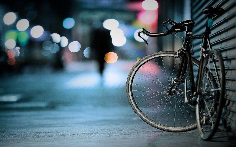 老式自行车唯美图片与情侣唯美意境图片分享 图5