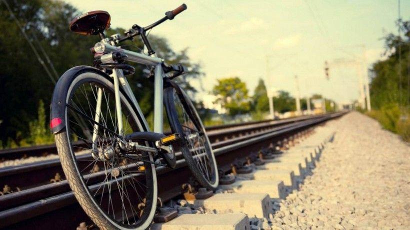 老式自行车唯美图片与情侣唯美意境图片分享 图6