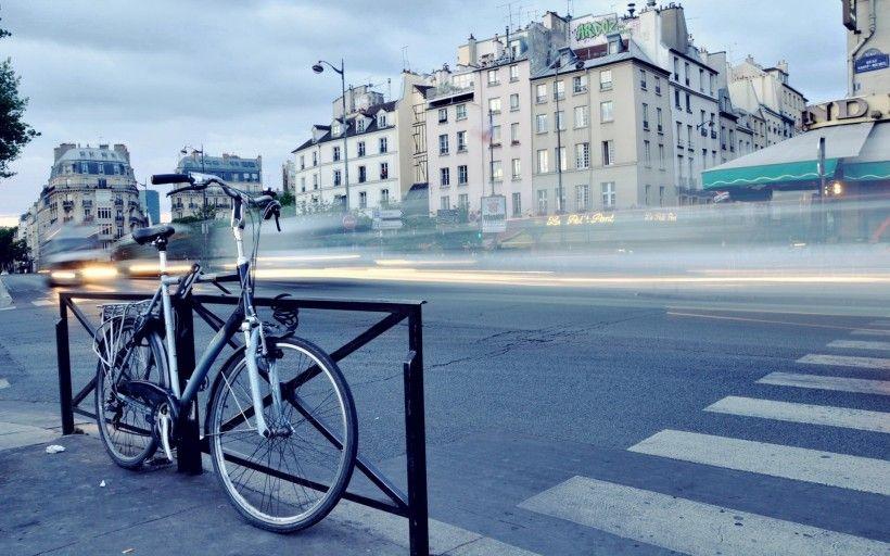 老式自行车唯美图片与情侣唯美意境图片分享 图7