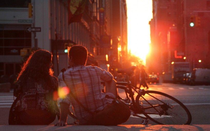 老式自行车唯美图片与情侣唯美意境图片分享 图9
