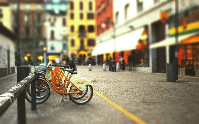 老式自行车唯美图片与情侣唯美意境图片分享 图10