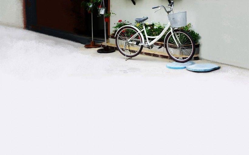 老式自行车唯美图片与情侣唯美意境图片分享 图11