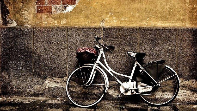 老式自行车唯美图片与情侣唯美意境图片分享 图12