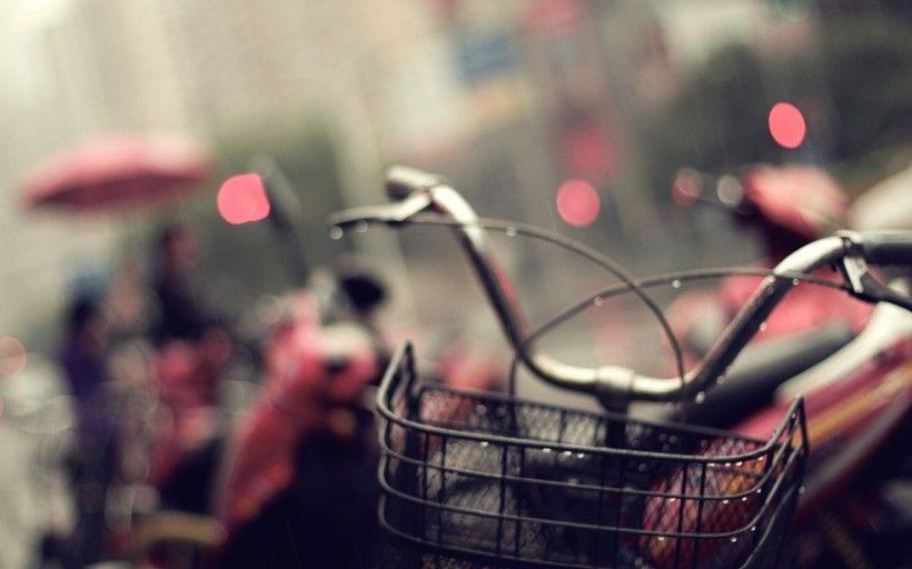 老式自行车唯美图片与情侣唯美意境图片分享 图13