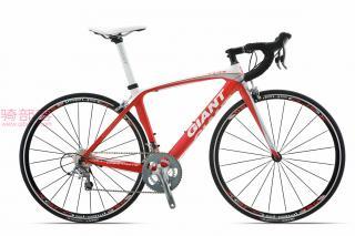 捷安特Giant TCR C3碳纤维自行车白月光/新年红
