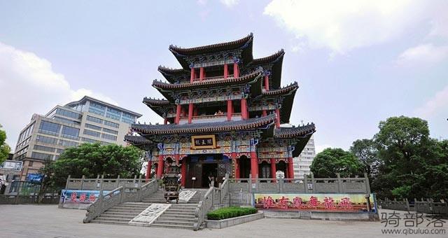 武汉赏汉江与长江交汇骑行路线