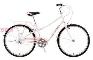 莫曼顿 爱你(iNeed)2000女女式旅行车亮白粉色