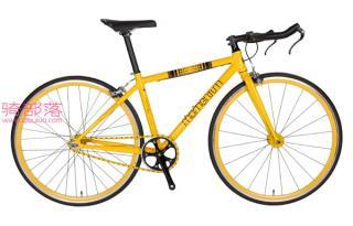 莫曼顿 爱旺(iWant)7000定飞自行车黄色