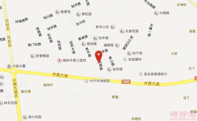 Merida(美利達)廣東興寧專賣店地址