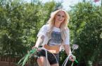 這輛自行車太個性了,美女能騎上它上街嗎? 圖4