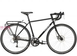 崔克Trek 520 碟刹城市旅行自行车黑色